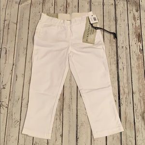 Pants - Miraclebody Cropped Jeggings white size 4